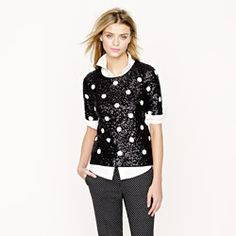 Polka-dot sequin top....wanted it and got it!