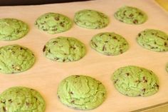 Melt in your mouth Mint Sugar Cookies!