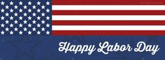 Happy Labor Day American Flag | Labor Day Facebook Timeline Cover / Covers at www.CoverMyTimeline.com! #LaborDay #Labor #DayOff