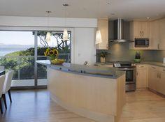 guest kitchen - contemporary - Kitchen - San Francisco - Mahoney Architects & Interiors