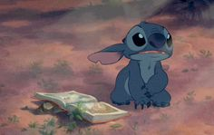 The moment i fell In love with Stitch...he is my all time favorite Disney character, bet u didn't know that about me lol
