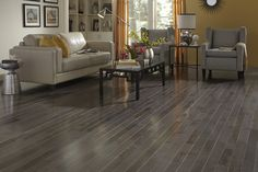 Casa de colour - Pewter Maple Hardwood flooring.