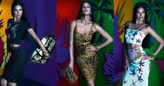 Adriana Lima In Versace For Riachuelo | Best Fashionest