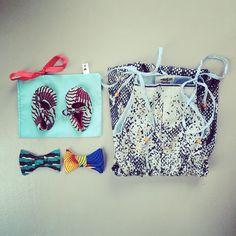 Blue www.waawaaw.com  #snakeprintjumpsuit #babyshoes #bowties