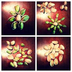 @belane3: #getcrackin #pistachios #yum #food #nut #nutshell #foodart #art #green #nom #fun #creative #lol