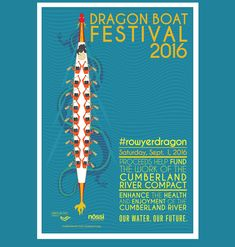 A school project where we were tasked in creating a poster for the Dragon Boat Festival. The design is influenced from the boats but also wanting to focus on the people on the boat. Facebook Poster, Cumberland River, Chinese Element, Chinese Festival, Dragon Boat Festival, Folder Design, Business Illustration, Boat Design, Festival Posters