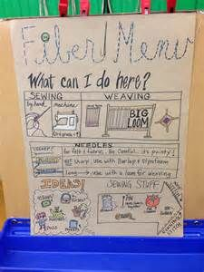 fiber art centers in choice classroom - - Yahoo Image Search Results