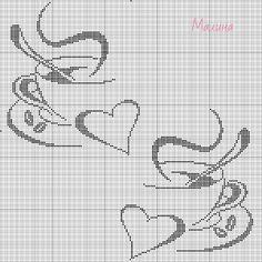 Картинка Cross Stitch Boarders, Butterfly Cross Stitch, Cross Stitch Love, Cross Stitch Pictures, Cross Stitch Alphabet, Beaded Cross Stitch, Cross Stitch Designs, Cross Stitching, Cross Stitch Embroidery