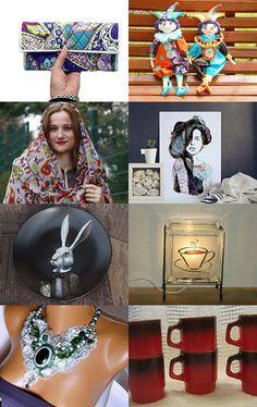 Rainbow Thursday by Atelier Chloe on Etsy--Pinned with TreasuryPin.com