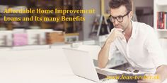#HomeImprovementloans are conveniently accessible and can be utilised to renovate your home. These are low cost loan alternative, which are offered even to those struggling with bad credit.  To see more,visit :- https://loanbrokeruk.wordpress.com/2016/09/13/affordable-home-improvement-loans-and-its-many-benefits/