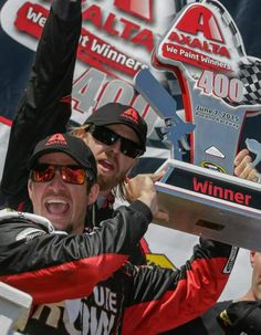 Mark Truex Jr Pocono win 2015