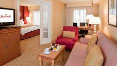 Anaheim Marriott Suites King Suite