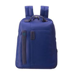 35fcdb80df75 RRP €340 PIQUADRO CA3349P15 Genuine Leather Multifunction Pockets Large  Backpack