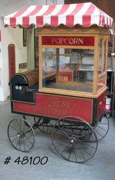 popcorn cart in Vending Carts & Machines