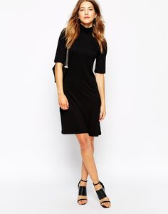 Image 4 of Vero Moda Turtleneck Dress