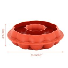 Round Garland Wreath Shaped Silicone Mold Baking