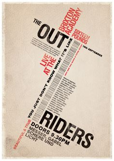 tands outriders poster by tinder + sparks