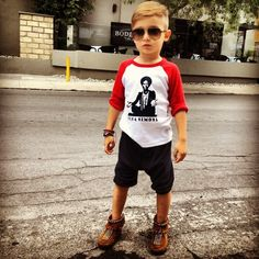 Alonzo 5years old trend setter