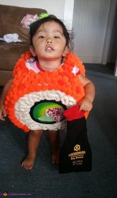 California Maki Sushi - Halloween Costume Contest via @costume_works
