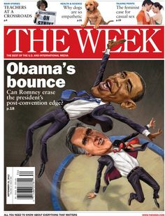 Obama's bounce: Sept 21, 2012