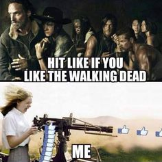 Very accurate description... Haha I love TWD!!!