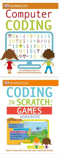 Try one of DK's awesome series of interactive coding workbooks. Each one offers a series of exercises and projects designed to get kids using the concepts they're learning.