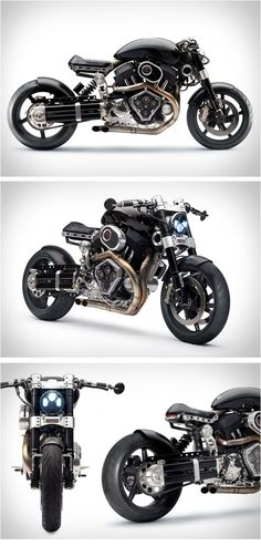X132 Hellcat by Confederate Motorcycles...