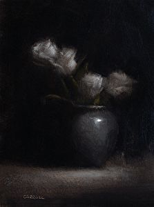 Four Roses by Neil Carroll Oil ~ 8 x 6 Find out more www.neilcarroll.com