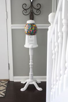 Vintage Gumball Machine Makeover