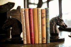 Vintage books make the best hiding places.