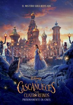 Walt Disney has released a new poster for their holiday feature film The Nutcracker and The Four Realms in theaters Nov. Netflix Movies, Hd Movies, Film Movie, Movies Online, Movie Cast, Disney Dvd, Film Disney, Disney Pixar, New Disney Movies