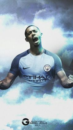 Welcome to City Gabriel Jesus! ⚽️💙⚽️