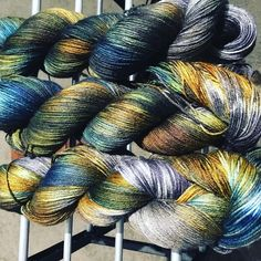 The newest colorway from the dyepot is now available on fingering and DK. Yarns, Sunrise, Wolf, Luxury, Knitting, Tricot, Breien, Wolves, Stricken