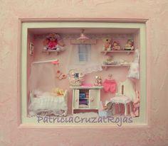 Patricia Cruzat Artesania y Color: niña durmiendo
