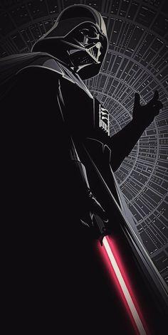 Darth Vader, Artist Unknown, wallpaper edit by William J. Star Wars Fan Art, Star Wars Love, Images Star Wars, Star Wars Pictures, Anakin Vader, Anakin Skywalker, Fullhd Wallpapers, Tatoo Star, Star Wars Painting