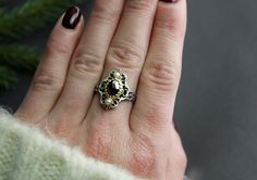 Trachtenschmuck Silber Ring Klara - Schmuck Steiner Online Shop