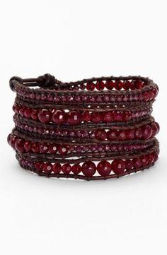 Chan Luu Wrap Bracelet available at Shades Of Burgundy, Burgundy Wine, Burgundy Color, Diy Jewelry, Beaded Jewelry, Jewelry Making, Jewlery, Jewelry Box, Chan Luu