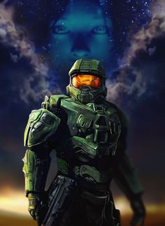 Master Chief by Moggith.deviantart.com on @DeviantArt