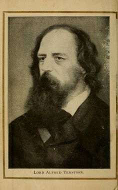 Lord Tennyson's 'Idylls of the king' frontispiece. Published 1900 by W. B. Conkey company in Chicago