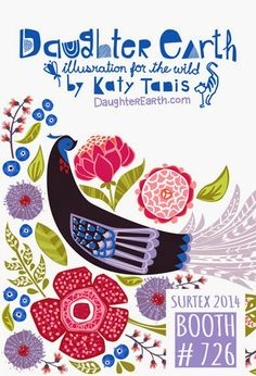 Surtex-2014-Flyer-Daugher-Earth