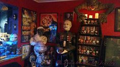 A living room fit for Bela Lugosi.