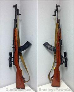 Norinco SKS 7.62x39mm Rifle, Bayonette, 30 Rnd Mag