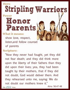 This LDS Mom: Scripture Heroes: Stripling Warriors and many more