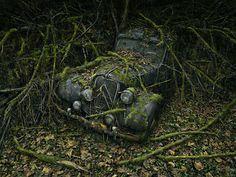 Los restos de un viejo Citröen