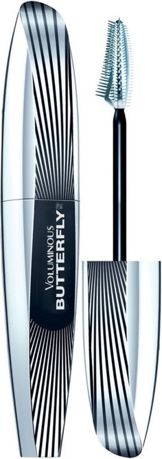 L'Oréal Voluminous Butterfly Mascara Black.... love this mascara, takes a few coats and some patience but the effect is worth the effort!