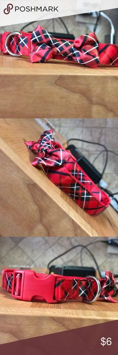 Christmas dog collar for small or medium size dogs Accessories