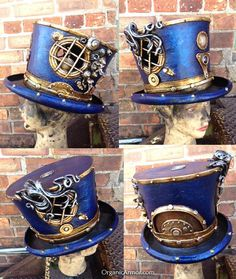 emporioefikz:  The Captain Nemo top hat by Organic ArmorVia http://ur1.ca/i1f6v