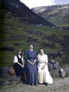 Norway circa 1910, by Adolphe Miethe