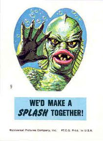 "Creature From the Black Lagoon- ""We'd Make a Splash Together"""