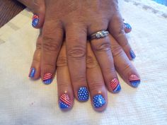 I did my friend's nails for the 4th of July this year... Shellac is amazing!  Working on doing more art to upload pictures.  I will do pedicures or manicures (or both) I just ask that you'd be able to give a donation so that I can cover my costs of the materials please. :-)  If you have any specific ideas you want me to try I'm game, just let me know and pin a picture of it so I can see! :-)